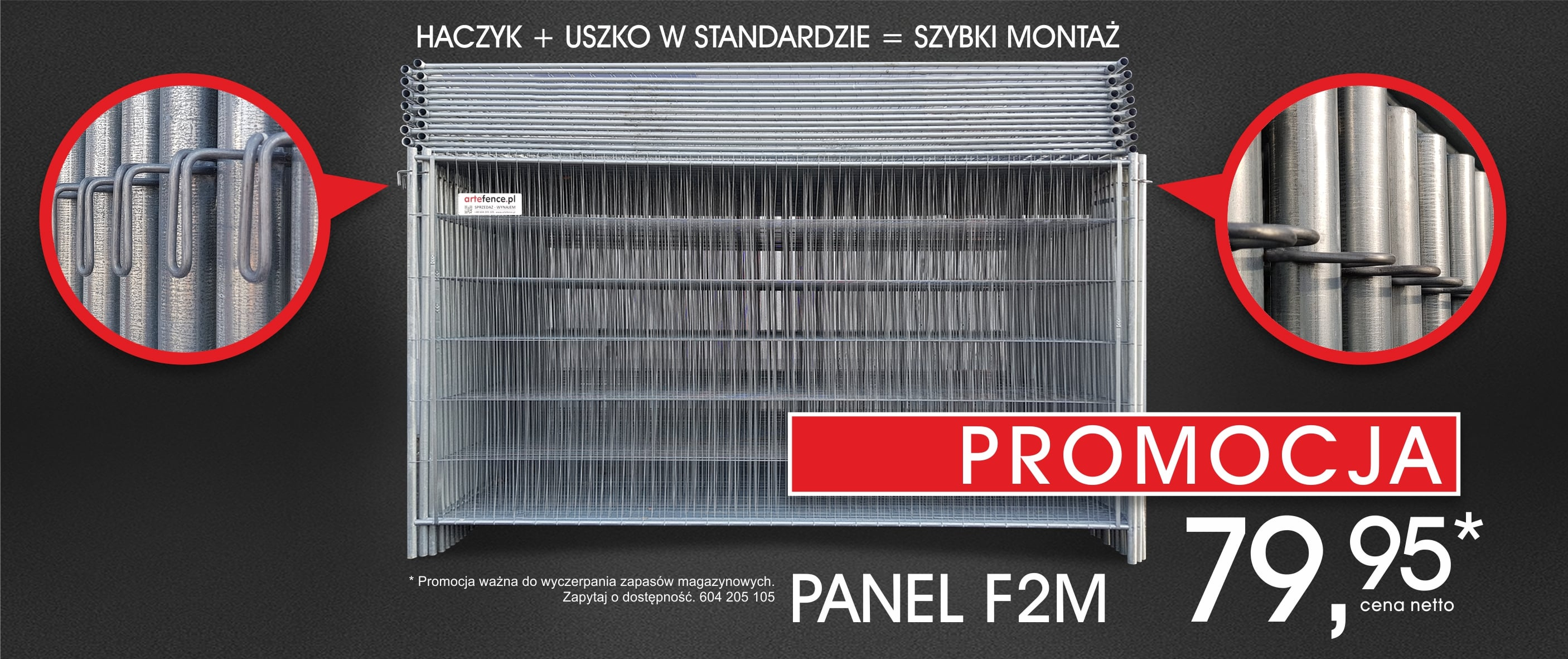 Promocja panel w Arte Fence